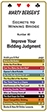 Improve your Bidding Judgment